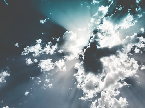Imagine de stoc gratuită din alb, atmosferă, cer, cer cu nori