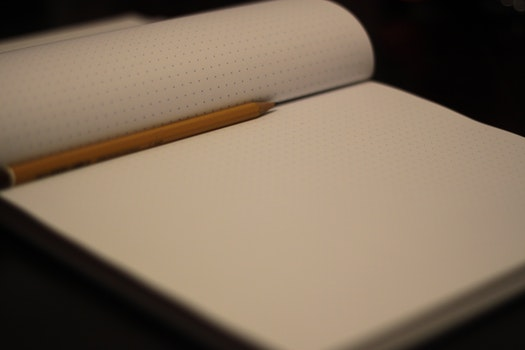 Free stock photo of dark, desk, notebook, writing