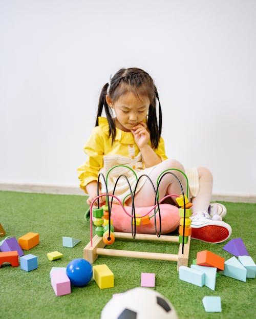 Gratis stockfoto met aan het leren, actief, Aziatisch meisje