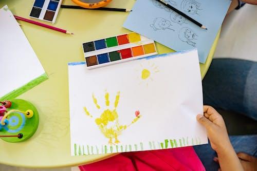 Immagine gratuita di acquerello, arti e mestieri, artistico