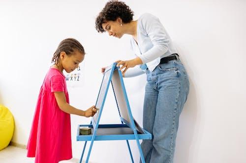 Darmowe zdjęcie z galerii z dziecko, dziewczyna, dziewczyna african american