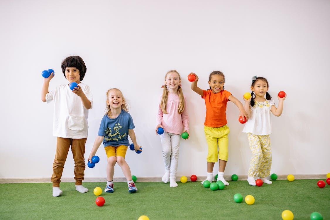 Ảnh lưu trữ miễn phí về bọn trẻ, chơi, đa chủng tộc