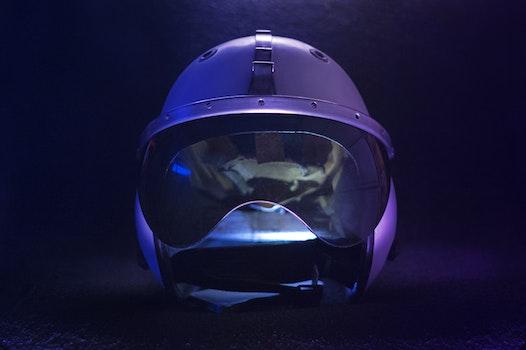 Free stock photo of motorcycle, helmet, cosmos, cosmonaut