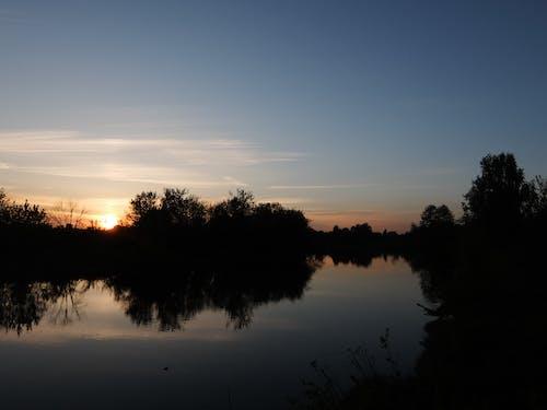 Бесплатное стоковое фото с вид на закат, закат, красивый закат