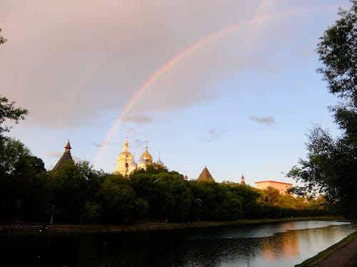 Бесплатное стоковое фото с дождь, после дождя, радуга