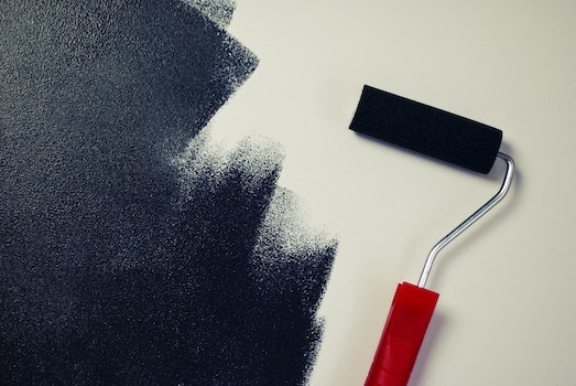 Free stock photo of wall, painting, black, paint