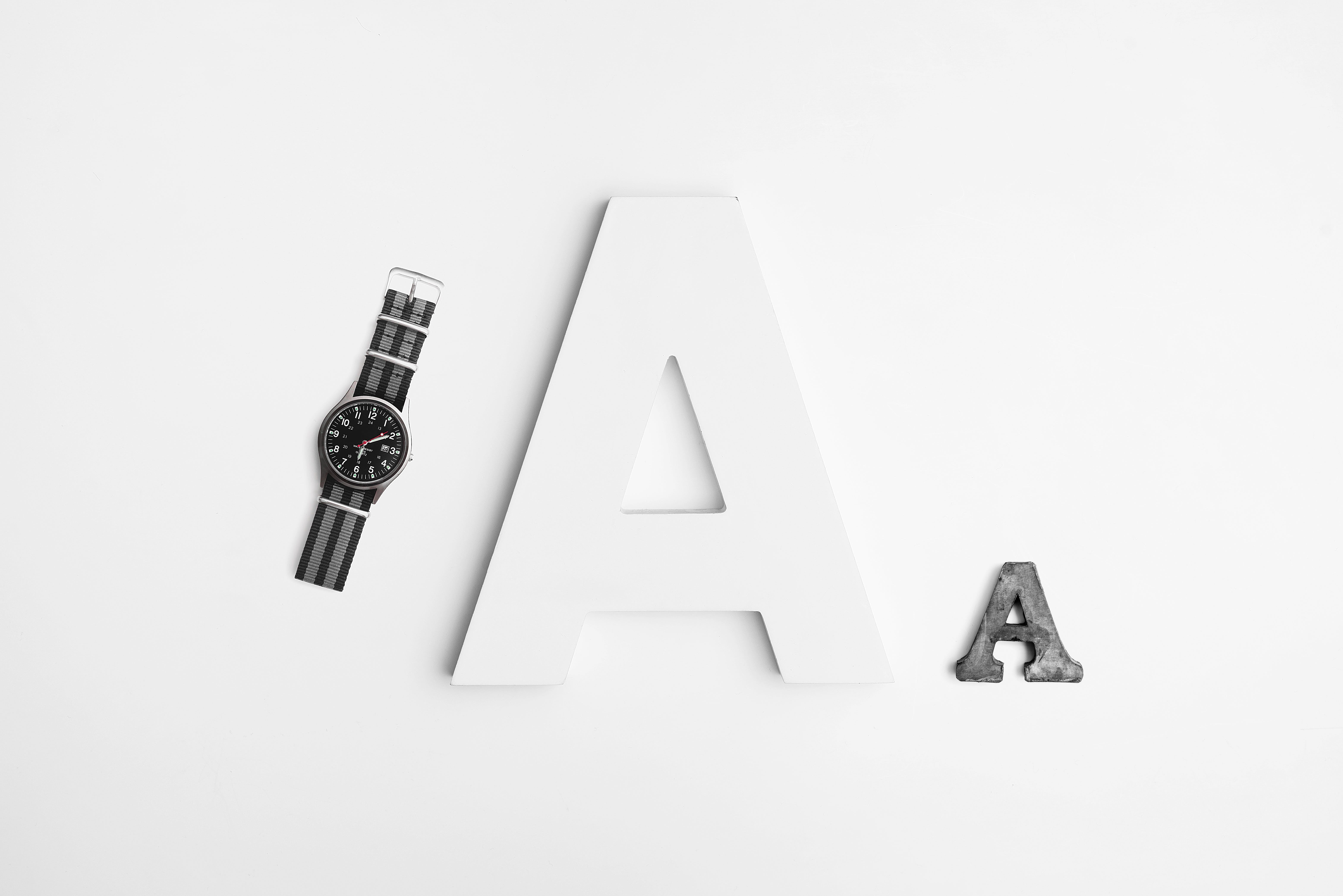 A Letter and Black Watch