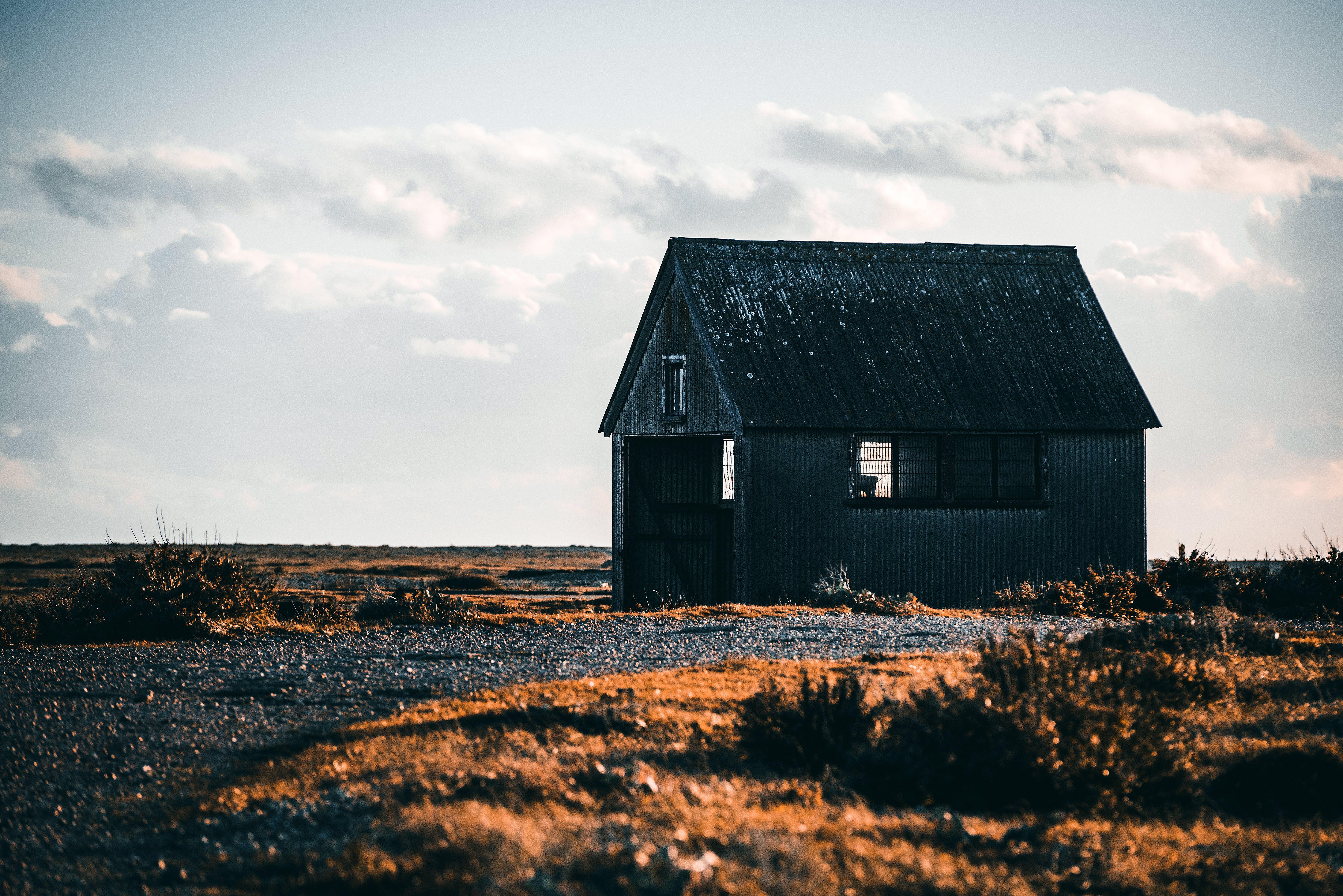 Kostenloses Stock Foto zu bauernhof, bungalow, draußen, entfernt