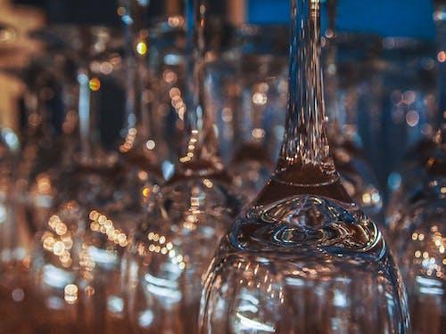 Fotos de stock gratuitas de azul, Copa de champagne, cristal