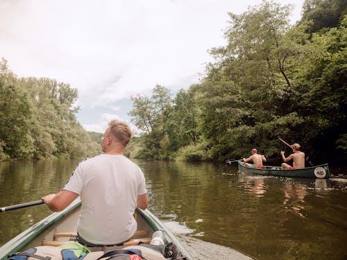 Kostnadsfri bild av bakifrån, båtar, kajak