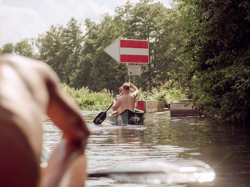 Kostnadsfri bild av bakifrån, båt, kajak