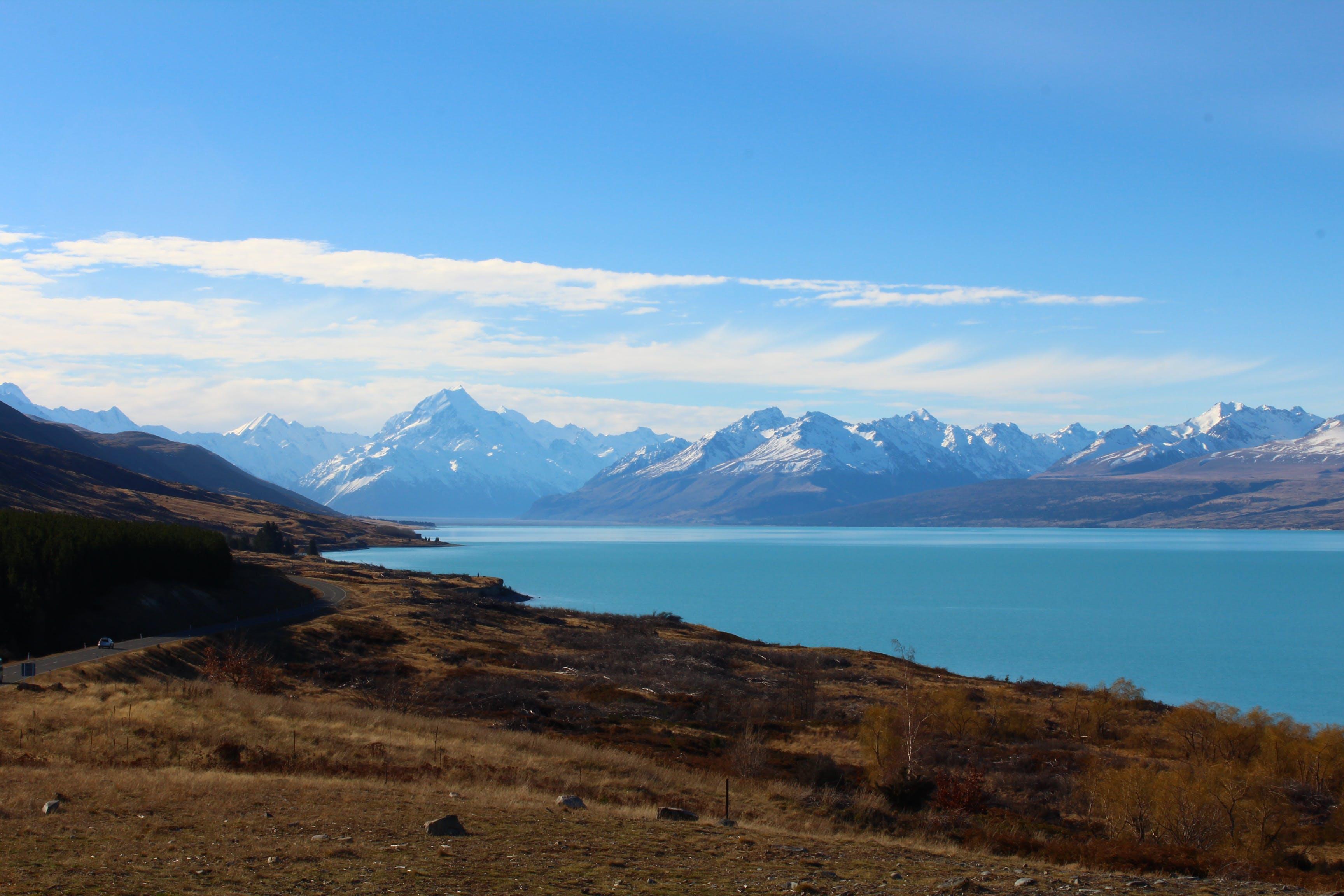 Free stock photo of adventure, blue, lake, landscape