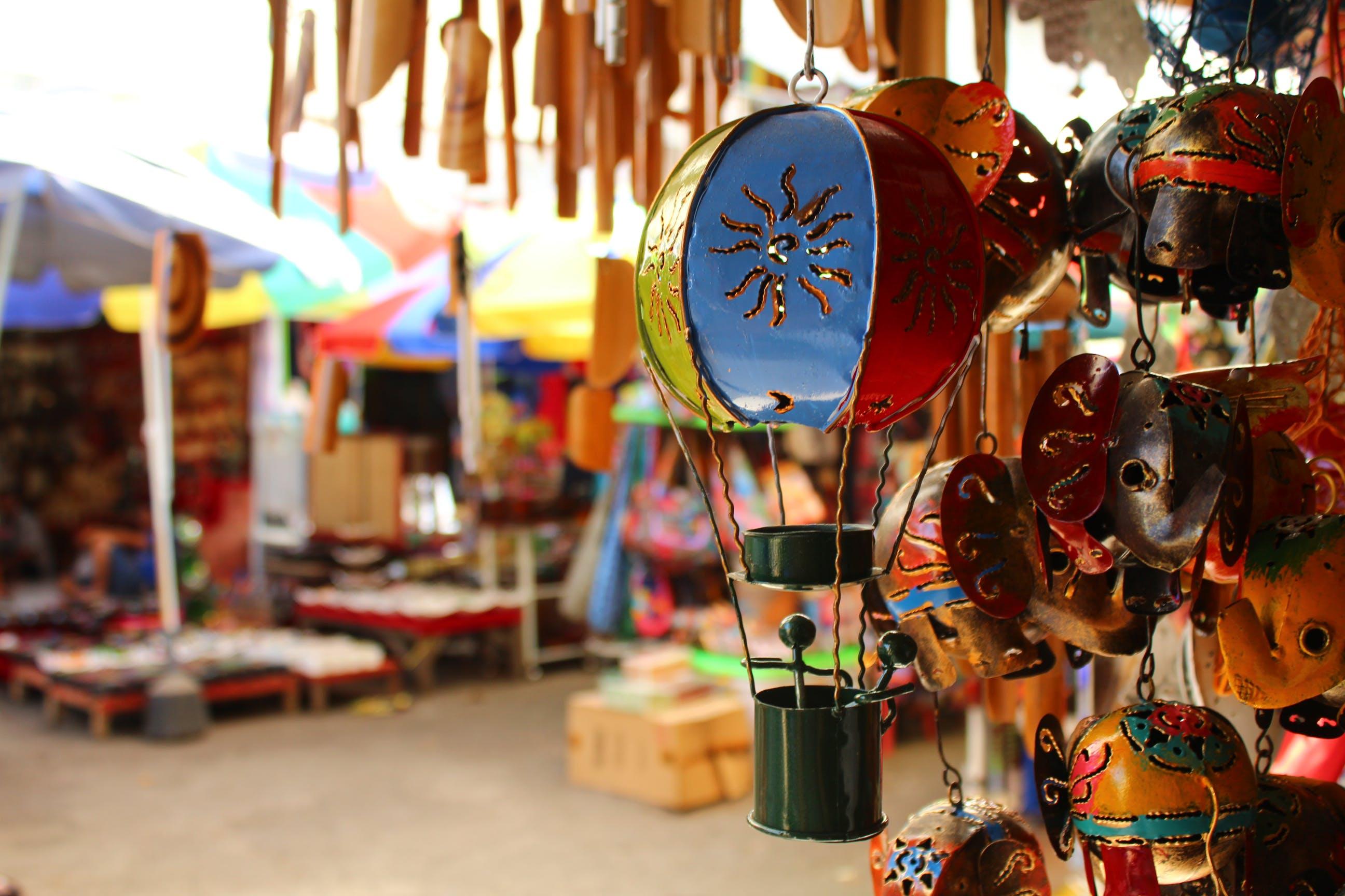 Free stock photo of bright colours, colour, indonesia, market