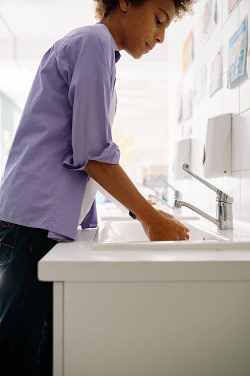 Immagine gratuita di affondare, igiene, interni