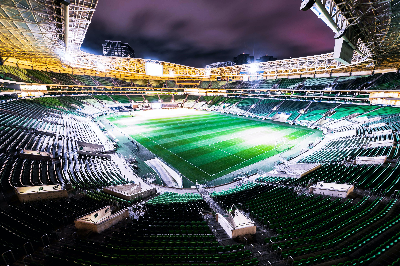 Free stock photo of football stadium, long exposure, night photography, night sky