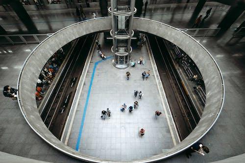 estaã§ã £ o da sã ©, insanlar, metro, metro istasyonu içeren Ücretsiz stok fotoğraf