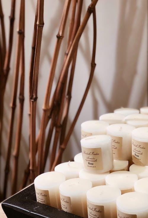Photos gratuites de à l'intérieur, bambou, brillant, cire