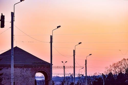 シティ, シルエット, タワーの無料の写真素材