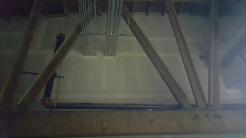 Free stock photo of beams, ceiling, construction, drywall