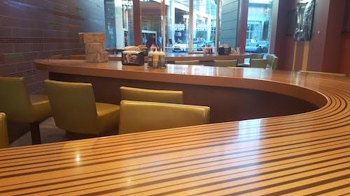 Free stock photo of brown, countertop, green, restaurant