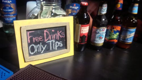 Free stock photo of bar, beer, free drinks, tips