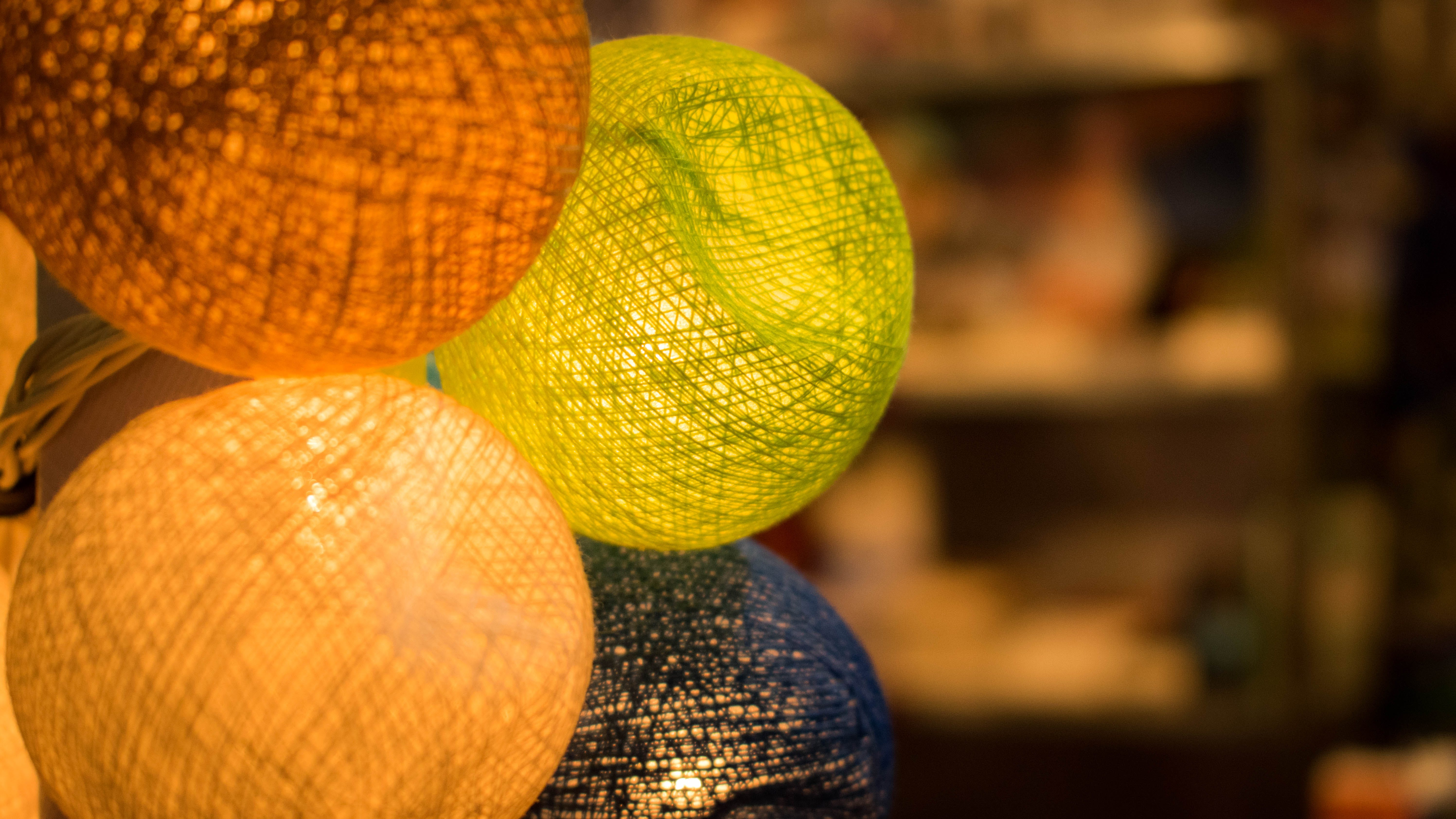 Free stock photo of lighting, ball, interior, interior decoration