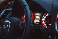 car, driving, black