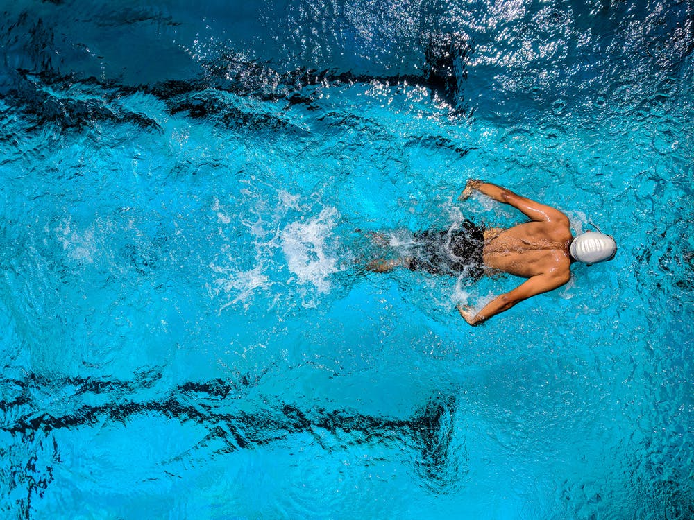 atividade física na água