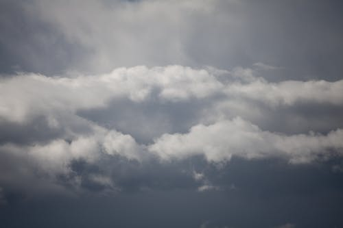 Foto d'estoc gratuïta de cel, núvols, per sobre de l horitzó