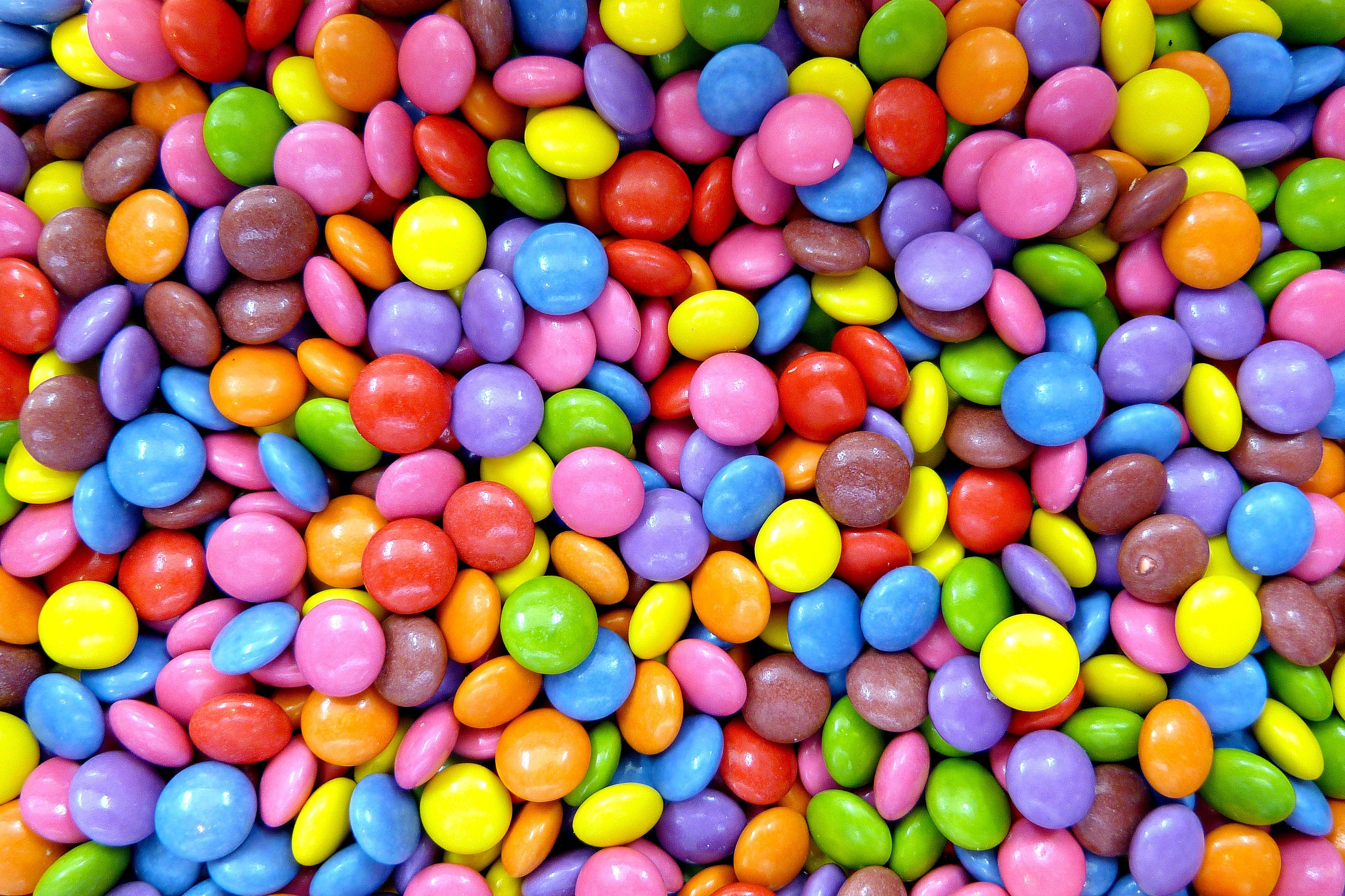Free stock photo of confectionery, lenses, royalty free, smarties