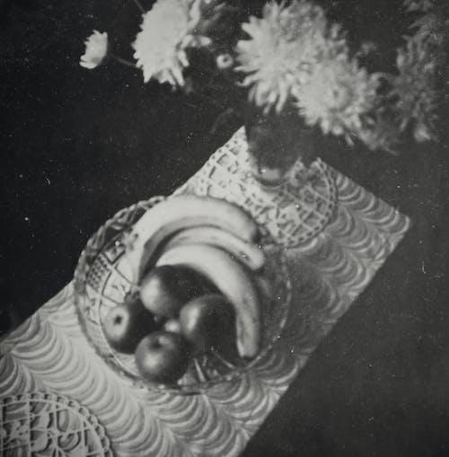 Kostenloses Stock Foto zu alte fotografie, altes foto, blumen