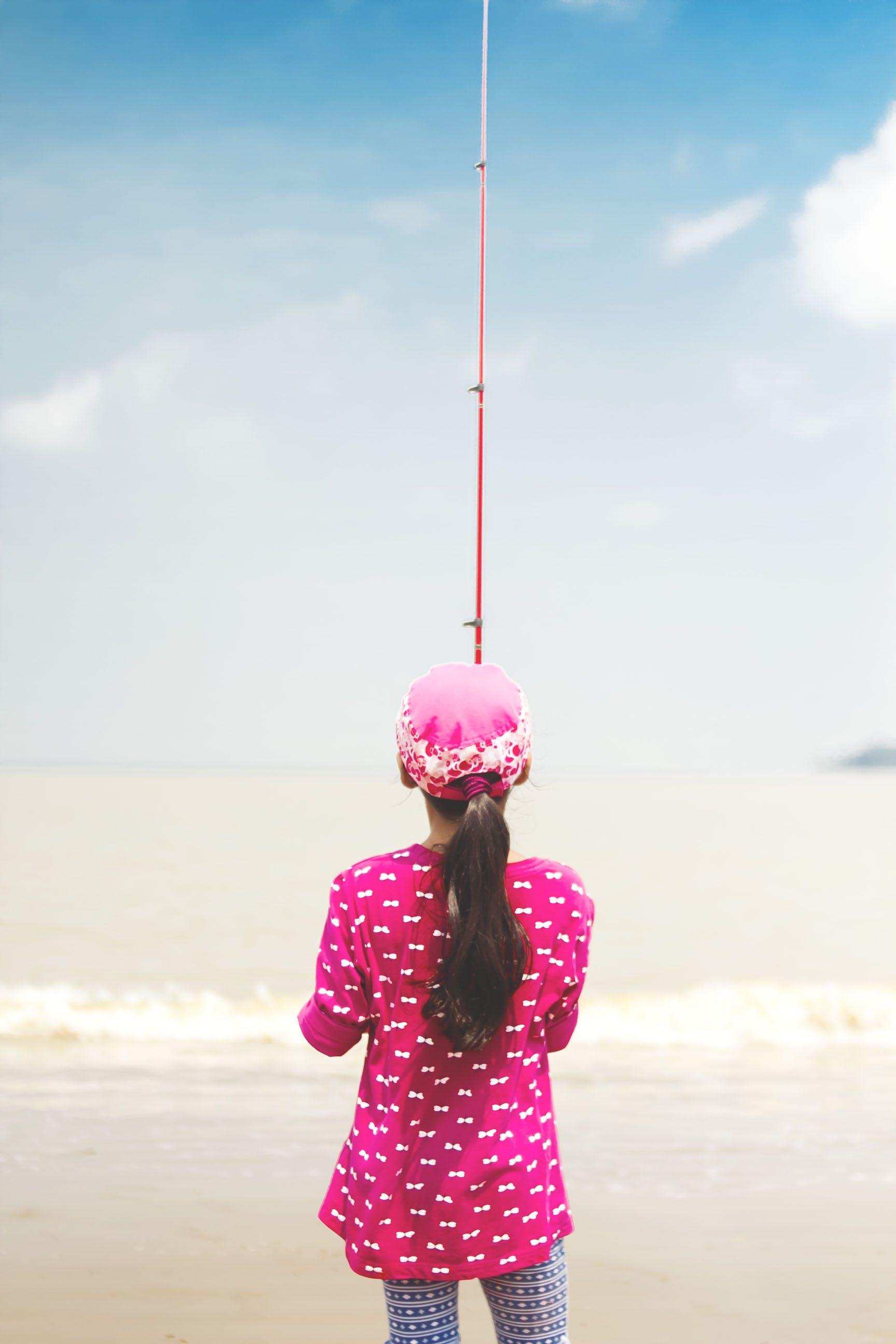 Kostenloses Stock Foto zu angeln, angelrute, draußen, entspannung