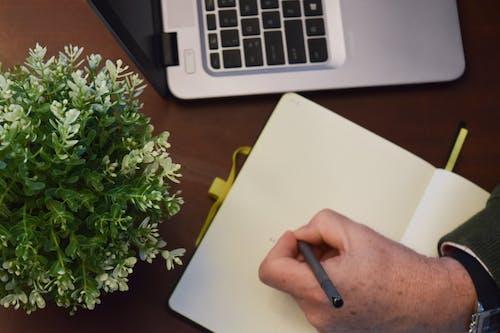 Fotos de stock gratuitas de escribiendo, escribir, garabatear, ordenador portátil