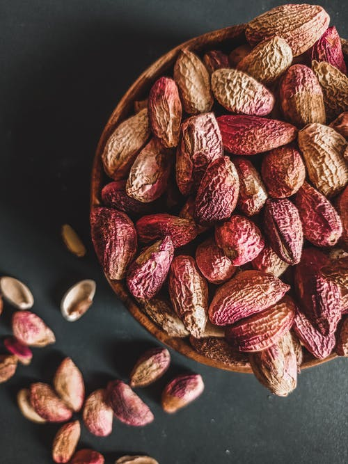Close-Up Shot of a Bowl with Nuts