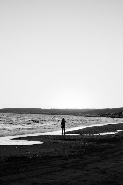 Foto profissional grátis de à beira-mar, beira-mar, de frente pro mar
