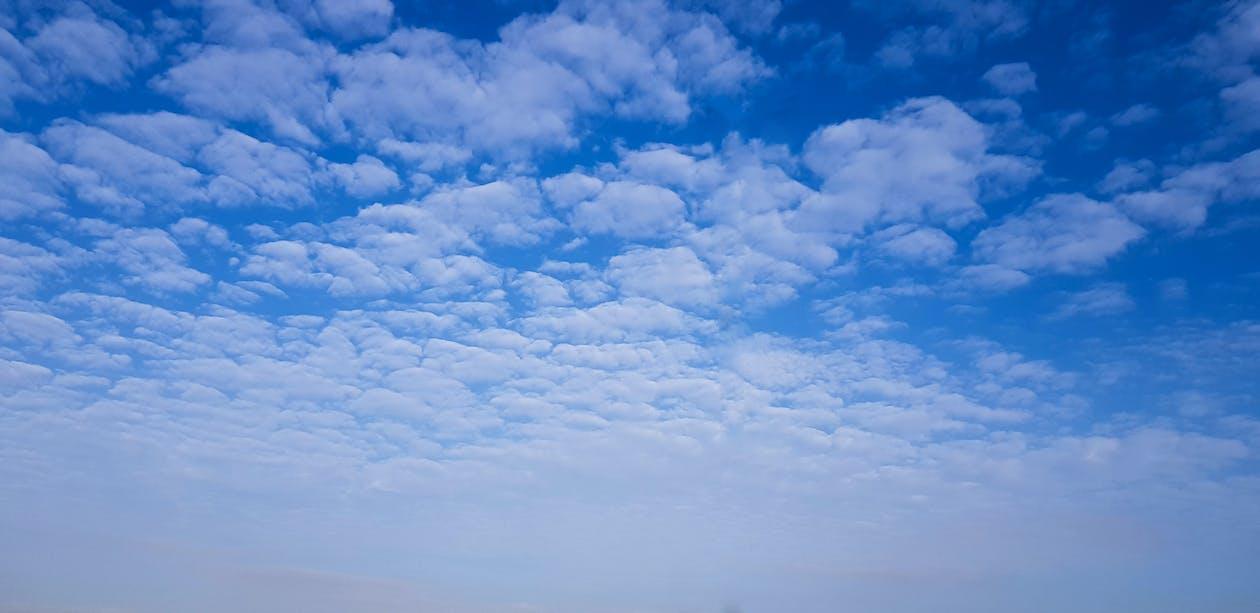ash cloud, blue sky, cloud formation
