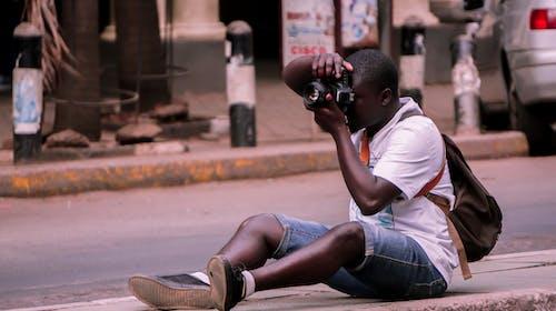 Kostnadsfri bild av afrika, fotograf, gata, gatukonstnär