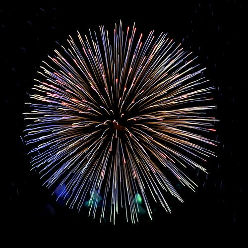 Free stock photo of colours, fireworks, lights, new year