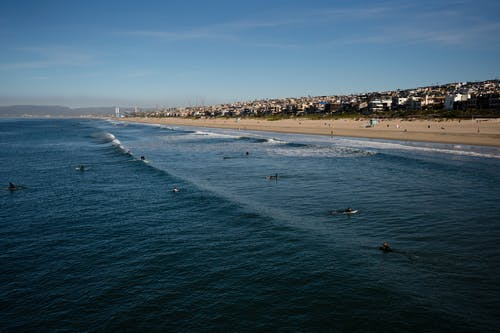 Free stock photo of beach, malibu view, manhatten beach, ocean
