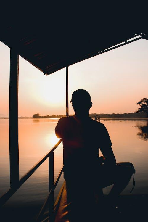 Δωρεάν στοκ φωτογραφιών με ανατολή ηλίου, αναψυχή, άνδρας