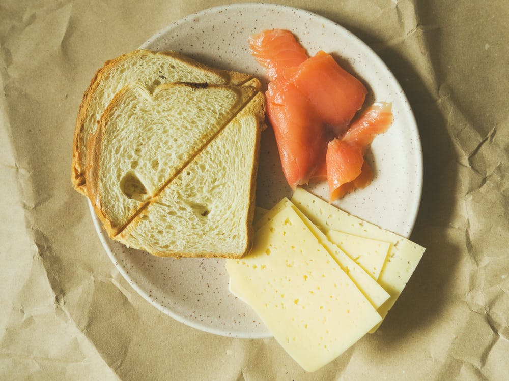 brânză, cină, delicios