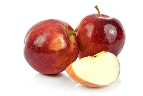 Free stock photo of apple, closeup, cut