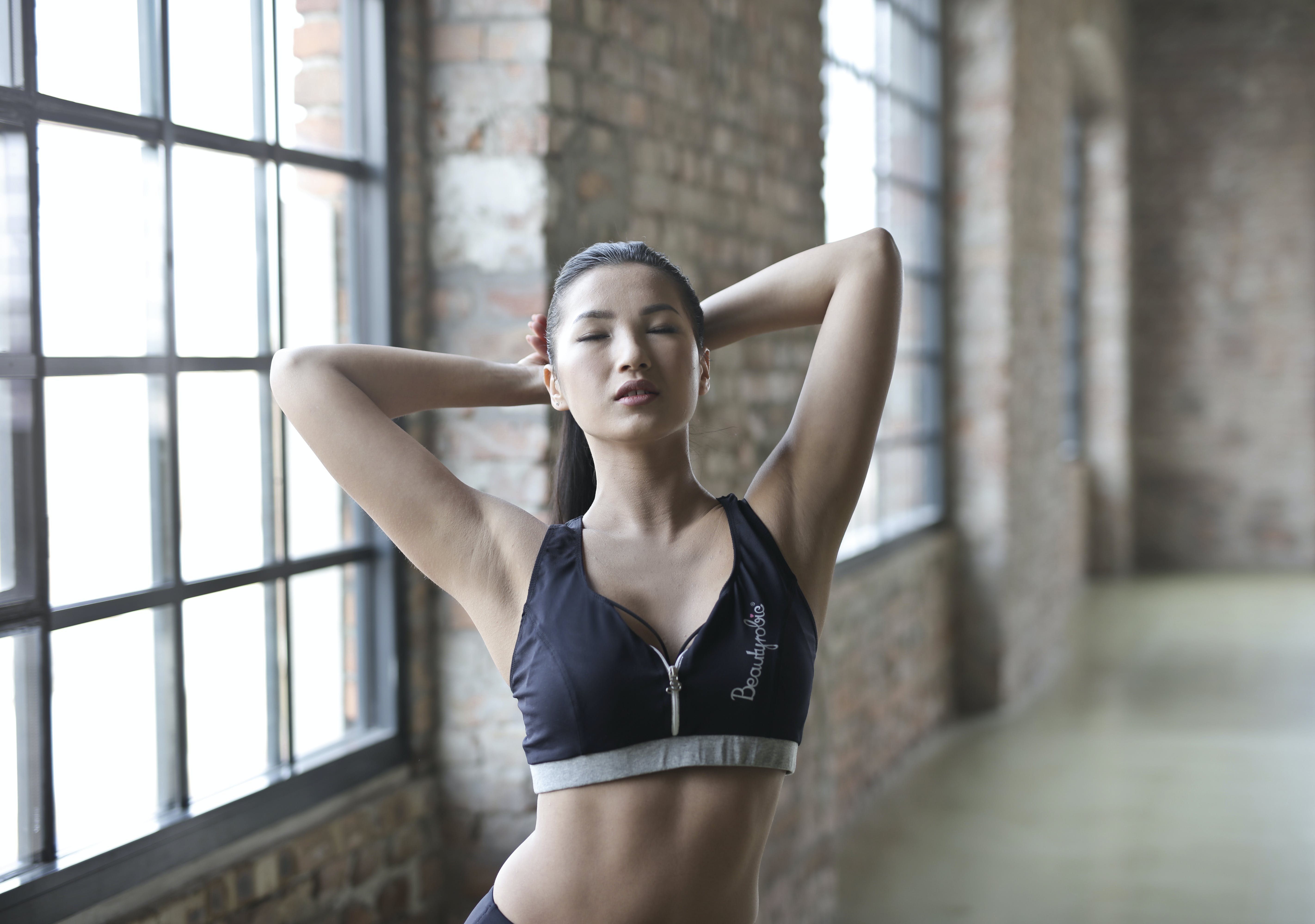of active, Asian, Chinese, fit