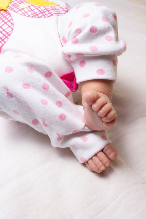 Close Up Shot of Baby Feet