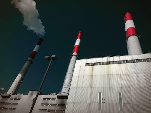 Free stock photo of chimneys, factory, iphone 5s, new york city