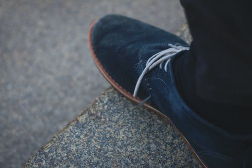 Free stock photo of blue, shoe, stone