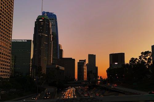 シティ, ダウンタウン, 塔の無料の写真素材