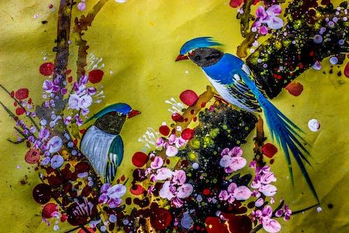 Photos gratuites de peinture d'oiseaux de printemps