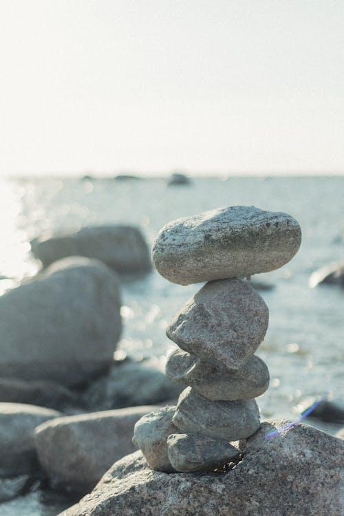 Бесплатное стоковое фото с баланс, булыжник, валун