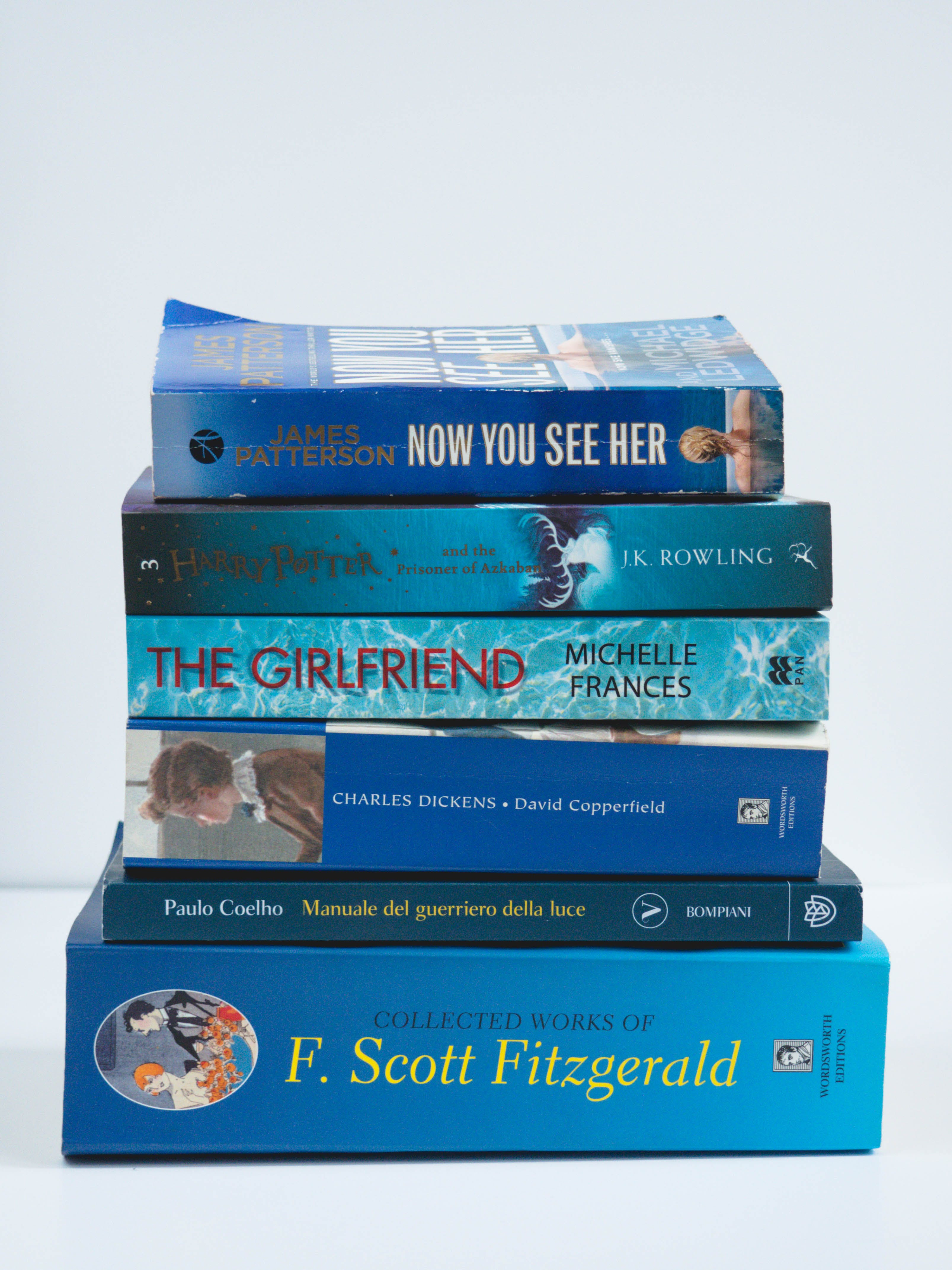 Free stock photo of blue, book, books, casual